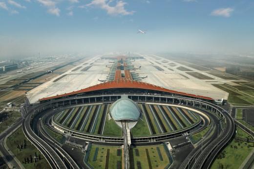 PEK một trong 10 sân bay lớn nhất thế giới