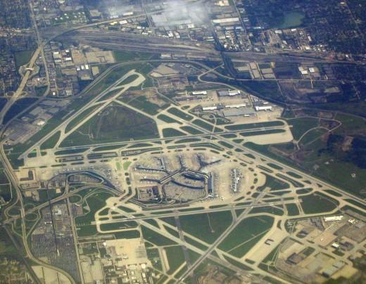 ORD một trong 10 sân bay lớn nhất