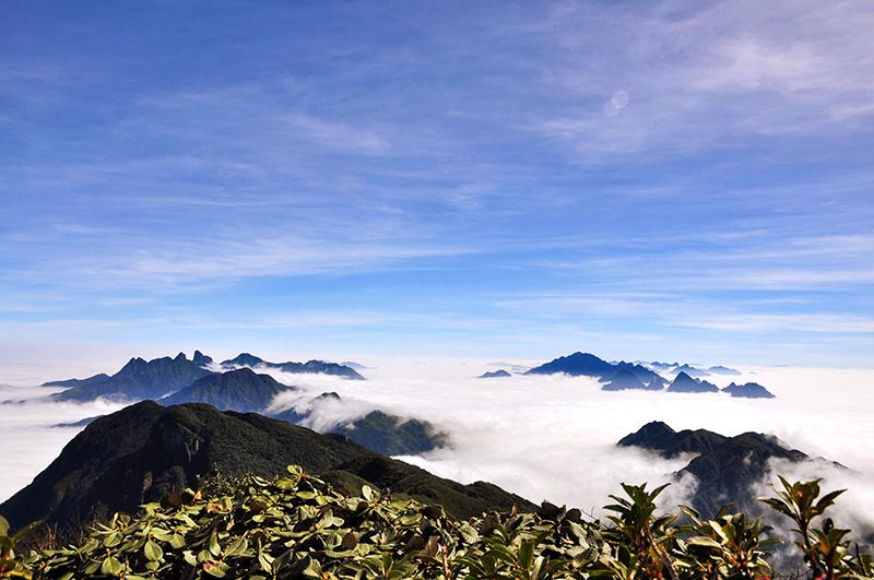 Pu Ta Leng (3.096m)- top 10 ngọn núi cao nhất Việt Nam