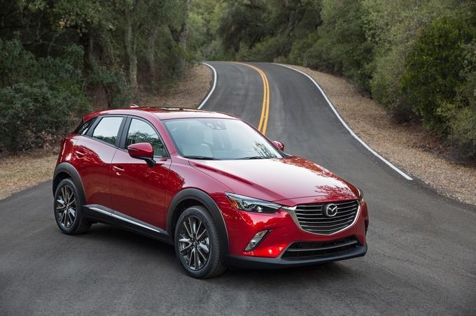 Mazda CX3 mẫu xe ô tô 5 chỗ gầm cao c