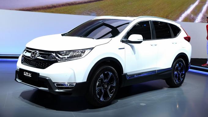 Honda CRV mẫu xe ô tô 5 chỗ gầm cao