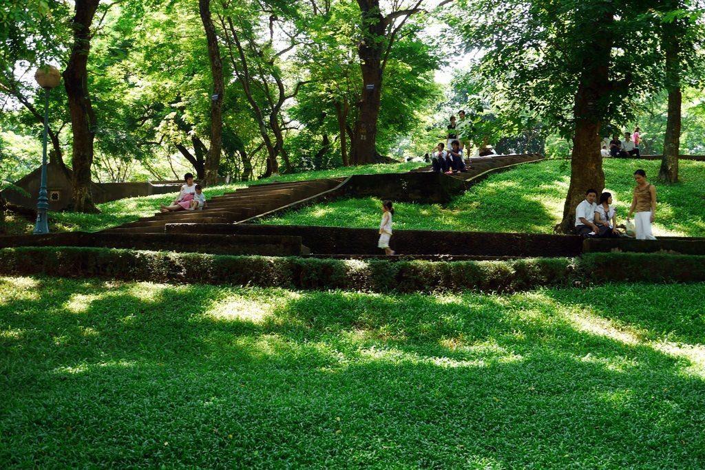 Vườn bách thảo - địa điểm vui chơi
