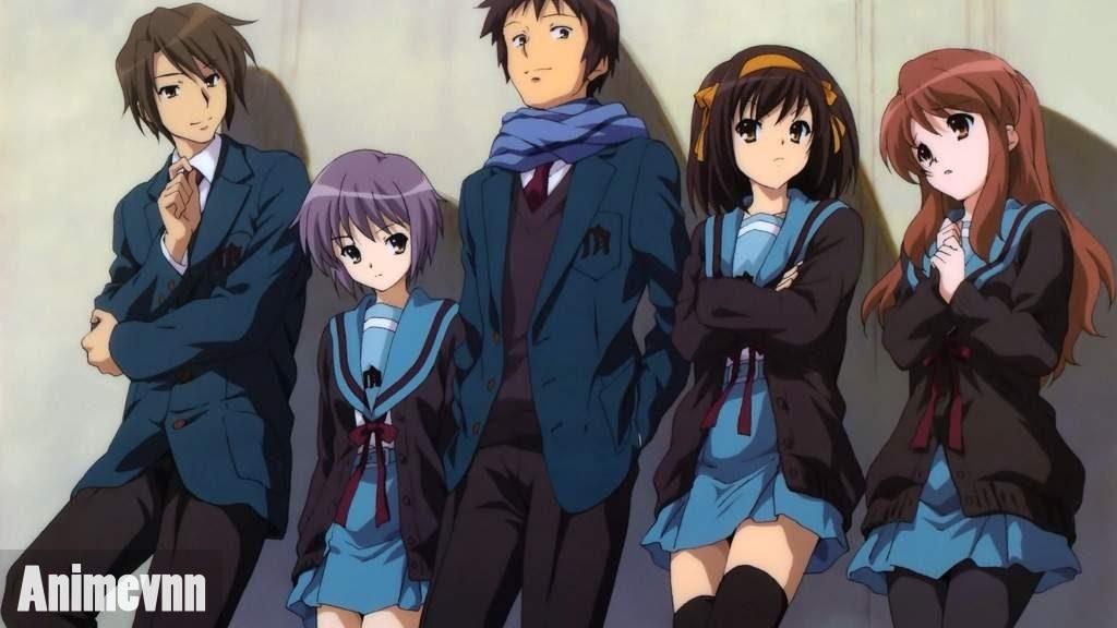 Top 10 Anime Học Đường