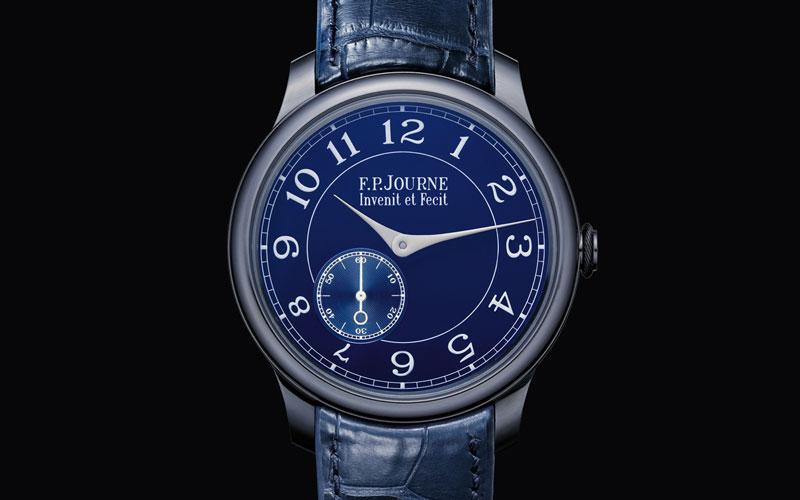 Đồng hồ đeo tay FP Journe Chronometre Bleu