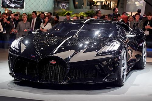 Bugatti La Voatio Noire