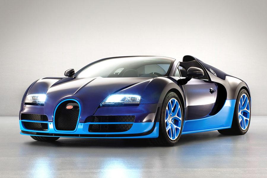 Siêu xe Bugatti Veyron Super Sport – 431km/h