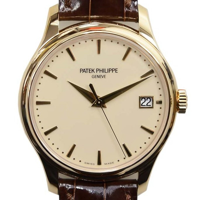 Đồng hồ đeo tay Calatrava Date Sweep Seconds