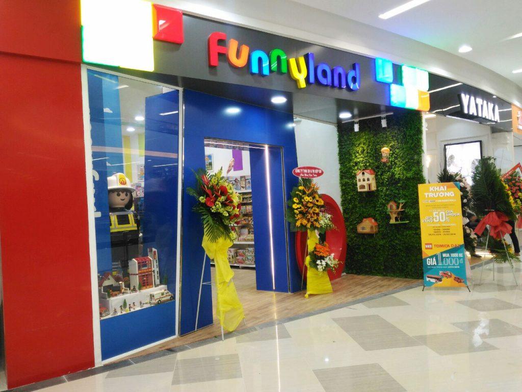 Cửa hàng đồ chơi trẻ em TPHCM – Funny Land