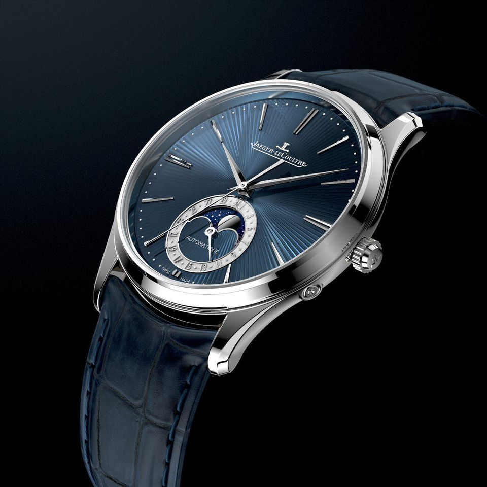 Đồng hồ đeo tay Jaeger-LeCoultre's New Master Ultra Thin Moon Enamel