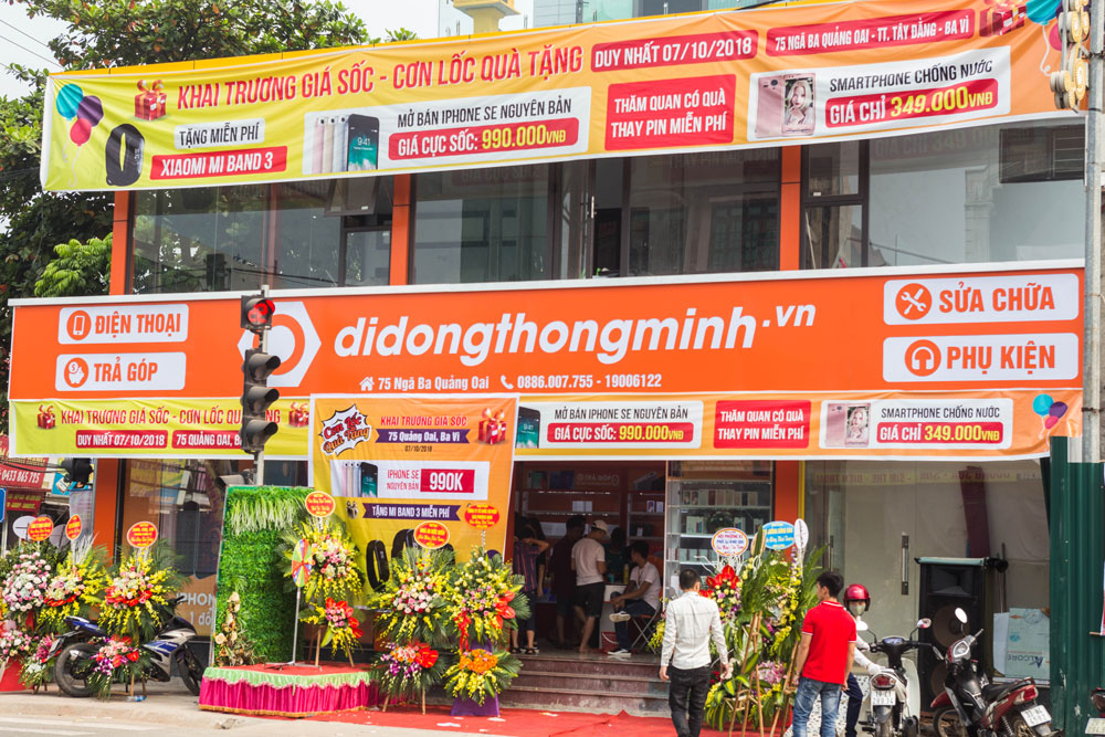 Mua bán Iphone tại didongthongminh