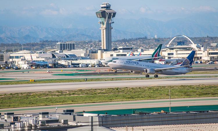 LAX sân bay lớn thứ 5