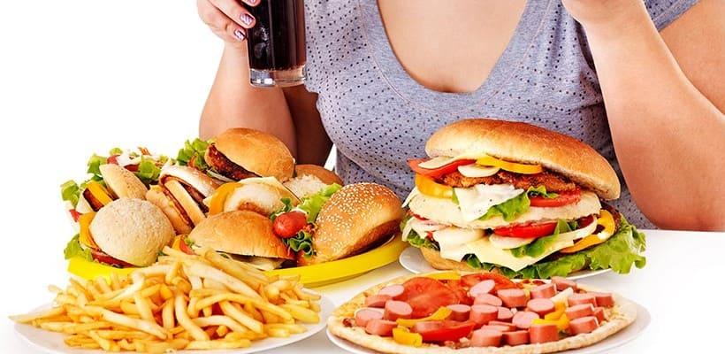 Chế độ ăn uống không lành mạnh