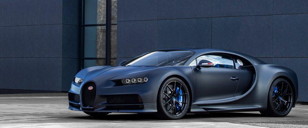 Siêu xe Bugatti Chiron – 420km/h